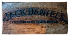 Jack Daniels Oak Barrel Beach Sheet