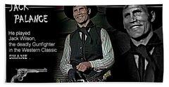 Jack  Palance Beach Sheet
