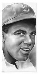 Jackie Robinson Beach Sheet by Greg Joens