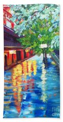 Jackson Square Reflections Beach Towel