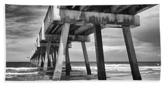 Jacksonville Beach Florida Usa Pier Beach Sheet