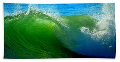 Jade Cascade Beach Towel