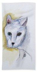 Jade The Cat Beach Towel