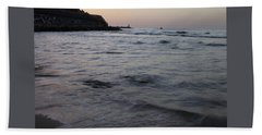 Jaffa Port Beach Sheet by Shlomo Zangilevitch