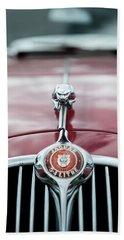 Jaguar Grille Beach Sheet by Helen Northcott