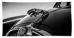 Jaguar Mascot Beach Towel by Douglas Pittman