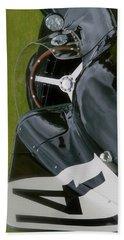 Jaguar Racing Car Smart Phone Case Beach Towel by John Colley