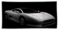 Jaguar Xj220 Beach Sheet