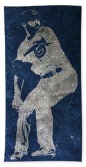 Jake Arrieta Chicago Cubs Art Beach Towel
