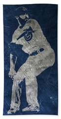 Jake Arrieta Chicago Cubs Art Beach Towel by Joe Hamilton