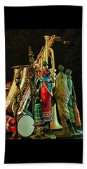 Jam Session Beach Towel