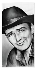 James Drury Beach Towel