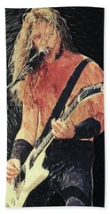 James Hetfield Beach Towel