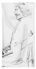 James Whistler's Portrait Beach Towel