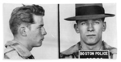 James Whitey Bulger Mug Shot 1953 Horizontal Beach Sheet