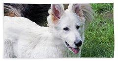 Janie As A Pup Beach Sheet