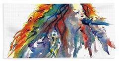 Janis Joplin Beach Sheet