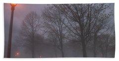 January Fog 3 Beach Sheet