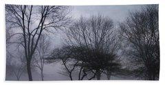 January Fog 6 Beach Sheet