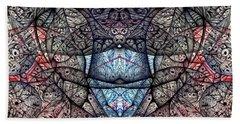 Janus Entanglement Beach Sheet by Jack Dillhunt