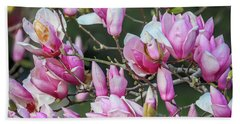 Japanese Blooms Beach Towel by Gregory Daley  PPSA