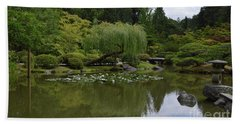 Japanese Gardens 3 Beach Towel