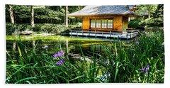 Japanese Gardens II Beach Sheet