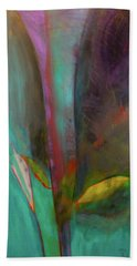 Beach Towel featuring the painting Japanese Longstem  by Iconic Images Art Gallery David Pucciarelli