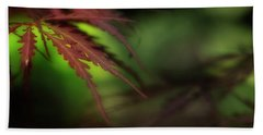 Beach Sheet featuring the photograph Japanese Maple by Mike Eingle