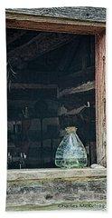 Jar In Window Beach Sheet