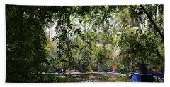Beach Towel featuring the photograph Jardin Majorelle 2 by Andrew Fare