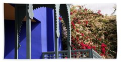 Beach Sheet featuring the photograph Jardin Majorelle 3 by Andrew Fare