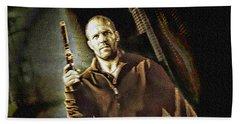 Jason Statham - Actor Painting Beach Towel