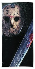Jason Voorhees Beach Sheet