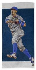 Javier Baez Chicago Cubs Art Beach Sheet