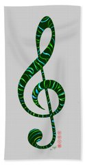 Jazz T Beach Towel