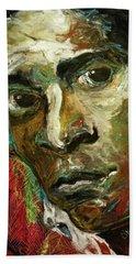 Jean-michel Basquiat Beach Towel