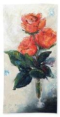 Jeannie's Roses Beach Sheet