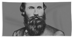 Jeb Stuart -- Confederate General Beach Towel