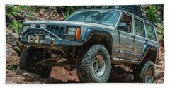 Jeep Cherokee Beach Towel