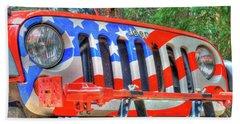 Jeep Usa Beach Sheet