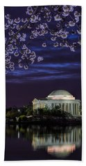 Jefferson Cherry Sunrise Beach Towel