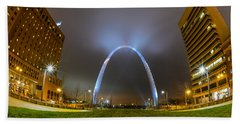 Jefferson Expansion Memorial Gateway Arch Beach Towel