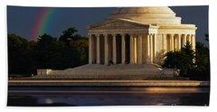 Jefferson Memorial Beach Sheet
