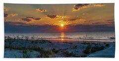 Jekyll Island Sunrise Beach Towel