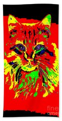 Jekyll The Cat Beach Towel