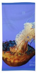 Jelly Ballet Beach Towel by Beth Saffer