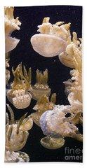 Jelly Parade Beach Sheet