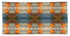 Jellyfish Pattern Beach Sheet