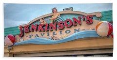 Beach Towel featuring the photograph Jenkinson's Pavilion by Kristia Adams